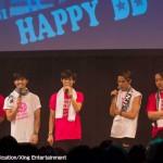 大国男児「みんなの力です!」大国男児LIVE!【HAPPY DD】取材レポート!