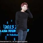 JYJジュンス初のソロ野外ライブ大熱狂!『2015 XIA 4th ASIA TOUR CONCERT IN YOKOHAMA』取材レポート!