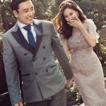 いつまでもラブラブなキム・ナムジュ&キム・スンウ夫婦!結婚10周年でグラビア飾る