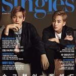 EXO(エクソ)シウミン&ベッキョン、韓国雑誌「Singles」12月号の表紙&グラビア飾る!