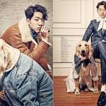 CNBLUEジョンシン、大きくなった愛犬シンバと韓国雑誌グラビアを飾る!