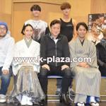 グァンス(超新星)、セヨン(MYNAME)が陣内孝則、諸星和己らと舞台「Honganji」公開稽古 取材レポート!