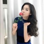 2NE1のDARA、バレンタインデーの認証ショットを公開!バラを手に誘惑ポーズ?!