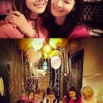 少女時代スヨンの誕生日にメンバーでお祝い!ドレスコードは可愛さバツグンのピンクで