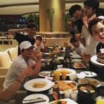 EXO、メンバー全員でシウミンの誕生日パーティー開催!認証ショットを公開!