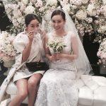 女優キム・ジョンウン、同い年の在米韓国人と結婚!
