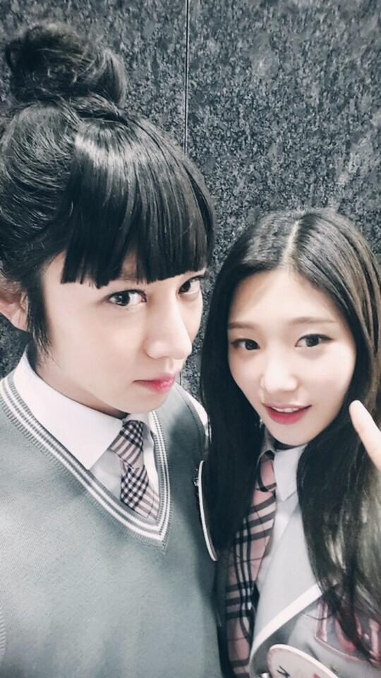 I.O.Iチョン・チェヨン&SUPER JUNIORヒチョル