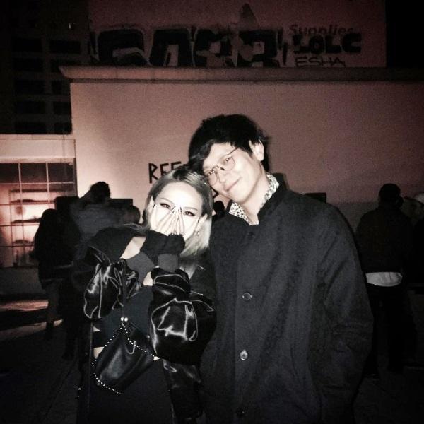 2NE1のCL&カン・ドンウォン