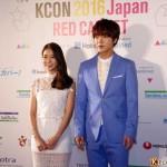 ユナク(超新星)、キム・ソンギュ(INFINITE)ほか『KCON 2016 Japan × M COUNTDOWN』4/9レッドカーペット フォトレポート