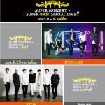 MYNAME、BTOB ほか、『SUPER CONCERT×SUPER FAN SPECIAL LIVE!!』開催!