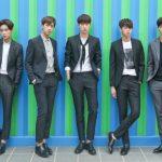 平均身長185cmの新人グループKNK、1stミニアルバム「AWAKE」のジャケット写真を公開!