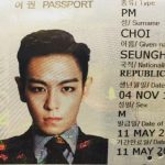BIGBANGのT.O.P、カリスマ溢れるパスポート写真公開で証明写真なのにカッコよすぎ!と話題に