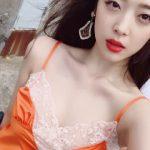 元f(x)ソルリ、今度は中国SNSでセクシーな大胆露出写真を公開!
