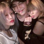 G-DRAGON&2NE1 CL、インパクトあるケミが話題に!G-DRAGONは両手に花?!