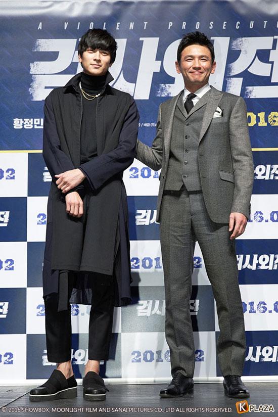 カン・ドンウォンとファン・ジョンミン