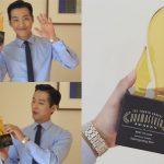 ナム・グンミン、「The 4RD Drama Fever Awards」で「匂いを見る少女」の役柄で「最高の悪役」部門賞受賞!
