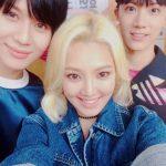 少女時代ヒョヨン、SHINeeテミン&NCT UのTENとの明るい笑顔の仲良しショットを公開!
