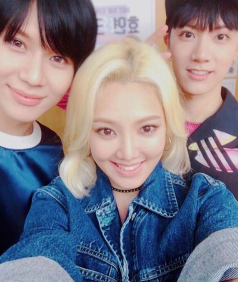 少女時代ヒョヨン&SHINeeテミン&NCT UのTEN