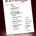 B.A.P、アンコールコンサートのセットリストを公開、新曲発表を暗示するフレーズに注目集まる!