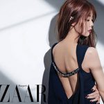 ハン・スンヨン、大人の女性美で魅せる韓国雑誌BAZAAR9月号のグラビアカット!