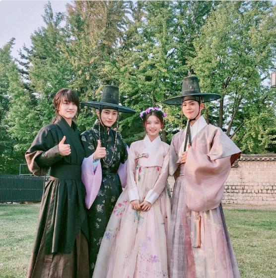 ドラマ「雲が描いた月明かり」パク・ボゴム&キム・ユジョン&ジニョン&クァク・ドンヨン