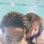 イ・ソンギョン、ドラマ「力道妖精キム・ボクジュ」共演ナム・ジュヒョクとの仲良しバックハグショットを公開!
