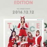 TWICE、3rdアルバムのクリスマスバージョンを発表!!メンバーがキュートなサンタに変身