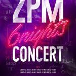 2PM JUN. K、「2PM 6NIGHTS」公演中に移動ステージから転落、事故発生により公演中止