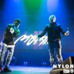 HIPHOPユニットMOBB(WINNER MINO&iKON BOBBY)とトレエン斎藤が『NYLON JAPAN×Onitsuka Tiger』のプレミアパーティで夢の共演!!