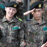 JYJジュンス&BIGBANGのTOP、訓練所での姿が公開、対極の2人に注目集まる