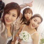 ソルビ、S.E.S.のBada(パダ)結婚式の写真を公開「愛する妖精のお姉さん、結婚おめでとう」