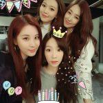 少女時代ソヒョン、メンバーたちとテヨンの誕生日をお祝い!!