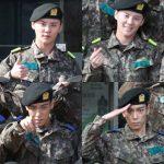 JYJジュンス&BIGBANGのTOP、訓練所での新しい写真が話題に