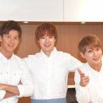寺田真二郎(料理研究家)とソル&ルイ(CODE-V)登壇「おしえて!おいしいキッチン」囲み取材【取材レポ】