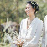 ユン・ジンソ、済州島の結婚式の様子を公開「幸せに結婚式を無事に終えました」