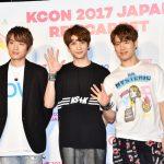 TRITOPS*、NOUGHTYBOYS、A-JAX 編『KCON 2017 JAPAN』5/19レッドカーペット フォトレポート