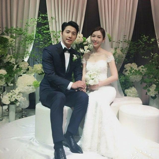 イ・サンウキム・ソヨン結婚式前