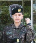 SUPER JUNIORキュヒョン、訓練所で凛々しい軍服姿が話題!
