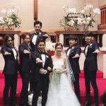 神話エリック&ナ・ヘミの結婚式の様子が公開に!神話(SHINHWA)メンバーと一緒にポーズ