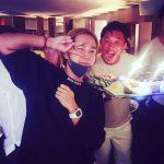秋山成勲、チャン・グンソクとの合同誕生日会を楽しむ