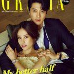 イ・ドンゴン&チョ・ユニ夫婦、韓国雑誌GRAZIA9月号で表紙を飾る!ラブラブなグラビアも