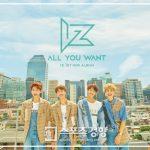 バンドIZ(アイズ)、1stミニアルバム「All YOU WANT」&MV公開し正式デビュー!