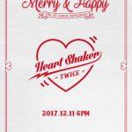 TWICE、12月11日にリパッケージアルバムを発売!新曲「Heart Shaker」を発表
