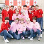 2018年新春公演中の新人グループ『14U(ワンフォーユー)』が日本赤十字社に寄付!