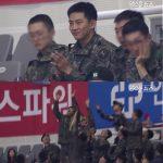 現在兵役中の2PMテギョン、軍同期の仲間とバスケットボールを観戦!