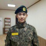 キム・スヒョン、今月18日に入隊後初の休暇をとる