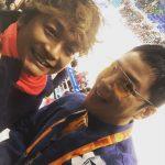 チャン・グンソクと香取慎吾、2018平昌パラリンピックで明るい笑顔のツーショット写真公開!