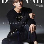 JYJ キム・ジェジュン、Harper's BAZAAR 7・8月合併号の表紙を飾る