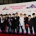 【フォトレポ】SEVENTEEN(セブンティーン)『KCON 2018 JAPAN』4月14日(2日目) レッドカーペット