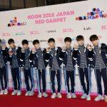【フォトレポ】TRCNG(ティーアールシーエヌジー)『KCON 2018 JAPAN』4月14日(2日目) レッドカーペット
